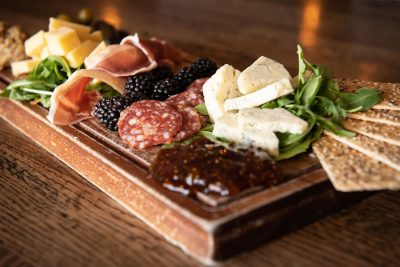 Charcuterie board at The Met Kitchen
